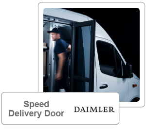 Speed Delivery Door
